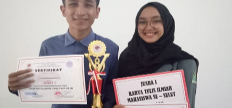IAIN Juara Lomba Karya Tulis Ilmiah Law of Fair